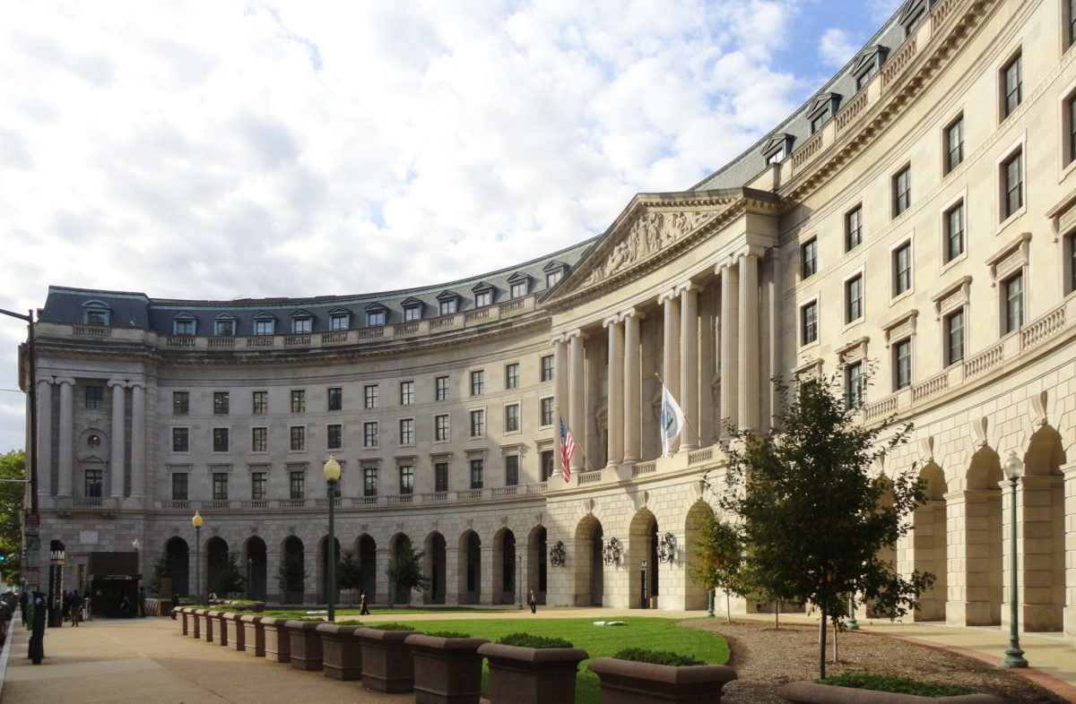 EPA delivered better alternatives to polystyrene foam Front Building DC