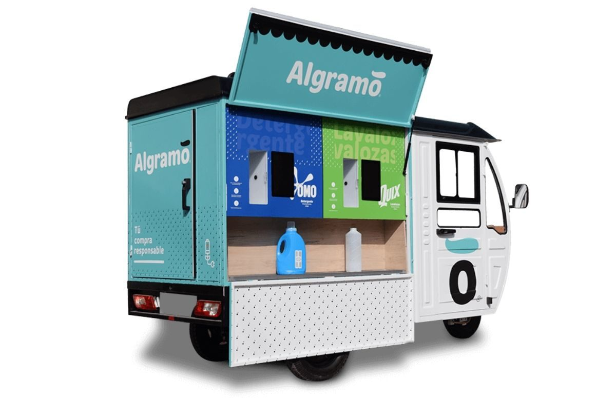 Algramo fighting packaging waste