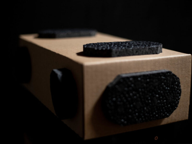A sustainable alternative to foam in place packaging